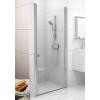 Ravak Chrome CSD1-90 egyrészes zuhanyajtó krómhatású kerettel, transparent edzett biztonságiüveggel