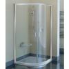 Ravak Blix BLCP4-80 négyrészes negyedköríves zuhanykabin szatén kerettel, grape edzett biztonsági üveg betéttel