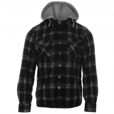 Lee Cooper Polár felső Lee Cooper Hooded Shirt gye.