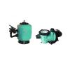 GEMAS Filtrex Ø500 10m3/h medence szivattyú homokszűrő vízforgató szett (0.75HP Mini Streamer 10.8m3/h)