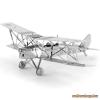 Fascinations Metal Earth de Havilland DH 82 Tiger Moth repülőgép