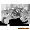 Fascinations Metal Earth John Deere B modell traktor