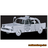 Fascinations Metal Earth Checker Cab taxi