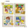Learning Resources Zaro és Nita puzzle - 6 darabos