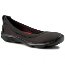 CROCS Félcipő CROCS - Busy Day Stretch Flat 203194 Black/Black
