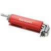 Fortum torx kulcs klt. 9db, hosszú, T10-50, S2, 10db/cse; T10-T15-T20-T25-T27-T30-T40-T45-T50, műanyag markolat