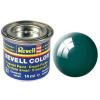 Revell email Szín - 32.162 fényes zöld-kék (tengeri zöld fényű)