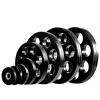m-tech (O) Season X1002011 Olimpiai, 50 mm-es, gumis 7-lyukú súlytárcsa, 5kg