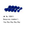 m-tech (G) X100411 Neoprén egykezes súlyzó, kézisúlyzó, 6kg