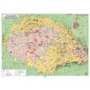 Stiefel Magyar néprajzi térkép DUO