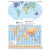 Stiefel A Föld egyedi tematikus térképei (2 db / lap)