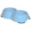 ,Moderna, Smarty Bowl 2 dupla gumitalpas tál (világoskék)