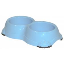 ,Moderna, Smarty Bowl 2 dupla gumitalpas tál (világoskék) kisállatfelszerelés