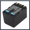 JVC GR-D33US 7.2V 3400mAh utángyártott Lithium-Ion kamera/fényképezőgép akku/akkumulátor