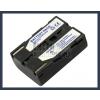 Samsung SB-L70 7.4V 1500mAh utángyártott Lithium-Ion kamera/fényképezőgép akku/akkumulátor