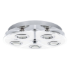 EGLO 30933 DL/5 GU10-LED CHROM/SATINIERT 'CABO'