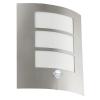 EGLO 88142 CL/1 stainless-steel w.sensor 'CITY'