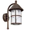 EGLO 90184 WL/1 antique-brown/clear 'SAN TELMO'