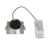 Schrack Technik SHRACK TECHNIK NEW TRIA LED DL SQUARE SET, csiszolt alumínium, 6W,3000K,38°- LI113916 világítás