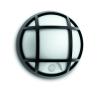 Massive - Philips Eagle wall lantern black 1x3.5W 230V- 17319/30/16