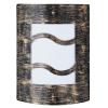 RÁBALUX Rábalux 8517 Denver 4, nástenná lampa, vonkajšia, odolná voči UV žiar.