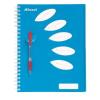 """REXEL Spirálfüzet, A4, vonalas, 125 lap, 5 részes, REXEL """"Joy"""", kék"""