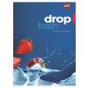 """UNIPAP Füzet, tűzött, A5, kockás, 96 lap, UNIPAP """"Fresh Fruit"""""""