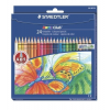 """STAEDTLER Színes ceruza készlet, hatszögletű, STAEDTLER """"Noris Club"""", 24 különböző szín"""
