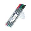 """STAEDTLER Rollertoll készlet, 0,4 mm, STAEDTLER """"Triplus"""", 4 különböző szín"""