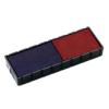"""COLOP Bélyegző cserepárna, 2 db/bliszter, kétszínű változat, COLOP """"E12/2"""", kék-piros"""