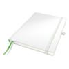 """Leitz Jegyzetfüzet, exkluzív, A4, kockás, 80 lap, keményfedeles, LEITZ """"Complete"""", fehér"""
