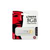 """Kingston Pendrive, 8GB, USB 3.0, KINGSTON """"DTI G4"""", sárga"""
