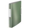 """Leitz Gyűrűs könyv, 4 gyűrű, 52 mm, A4, PP, LEITZ """"Active Style"""", olajfazöld gyűrűskönyv"""
