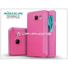 Nillkin Samsung A310F Galaxy A3 (2016) oldalra nyíló flipes tok - Nillkin Sparkle - pink tok és táska