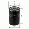 Bosch 0986452023 Olajszűrő FORD, NISSAN, SUBARU