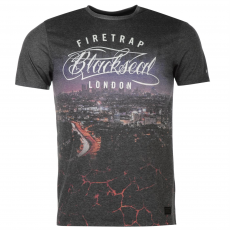 Firetrap Póló Firetrap Blackseal London City fér.