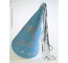 Glitteres várúrhölgy kalap kék plüssfigura