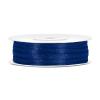 0,3 cm szatén szalag s.kék (50 m)-074