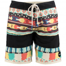 O'Neill PM GRINDER PATTERN BOARDSHORT Beach short D (O-603160-o_1900-White AOP)