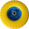 Molnárkocsi kerék, tömör gumis, szerelhető fém felnis 3.50-4 PU