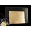 Tortaalátét 40*60 cm Black and Gold