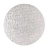 Tortadob ezüst 35.5 cm