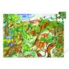 DJECO Dinoszauroszok - Kirakó és böngészőkönyv