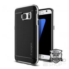 Spigen SGP Neo Hybrid Samsung Galaxy S7 Satin Silver hátlap tok tok és táska