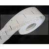 Függő címke 40×80 mm / fehér nyomatlan / lyukasztott 500 db/csom