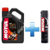 Motul 7100 4T 10W-60 4L + Motul Road Plus lánckenő spray