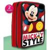 Mickey Disney Mickey 2 emeletes töltött tolltartó