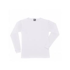 B123 - Hosszú ujjú póló - fehér