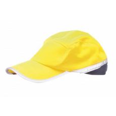 HB10 - Jól láthatósági baseball sapka - sárga / tengerészkék