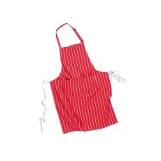 S855 - Hentes zsebes kötény - piros
